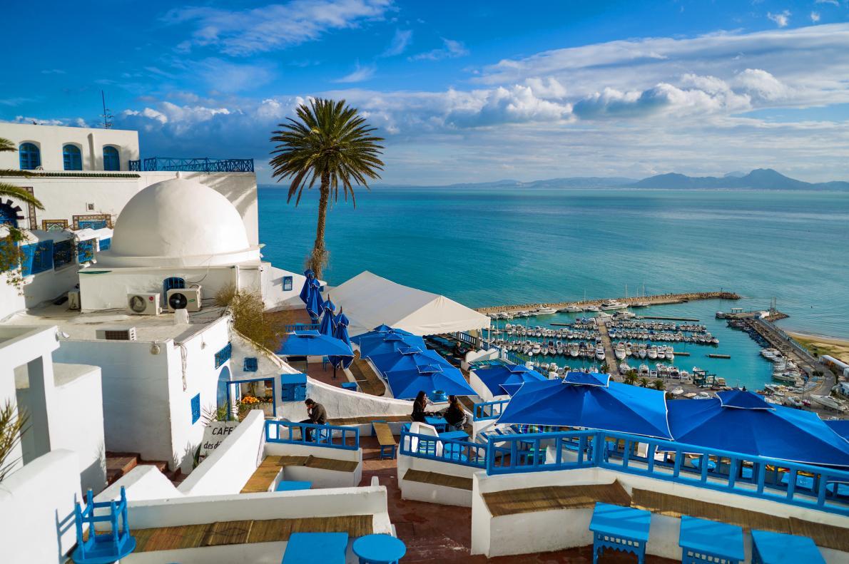 Photo of قهوة سيدي شبعان في سيدي بوسعيد، تونس